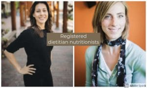 Dietitians Michelle Smith and Heidi Moretti by The Healthy RD