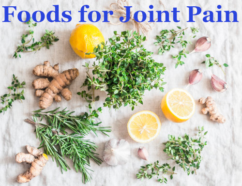 Foods for joint pain by The Healthy RD