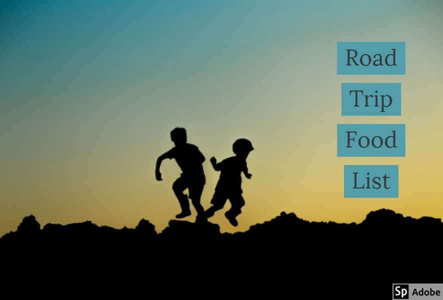 Healthy Road Trip Food List for Kids