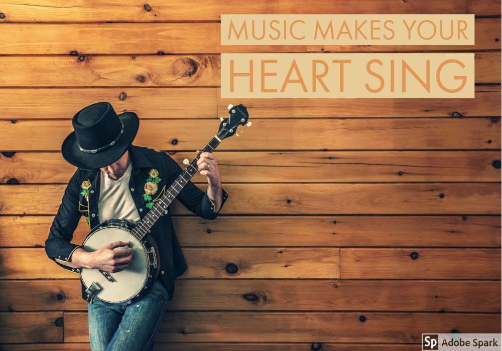Music makes your heart sing by The Healthy RD