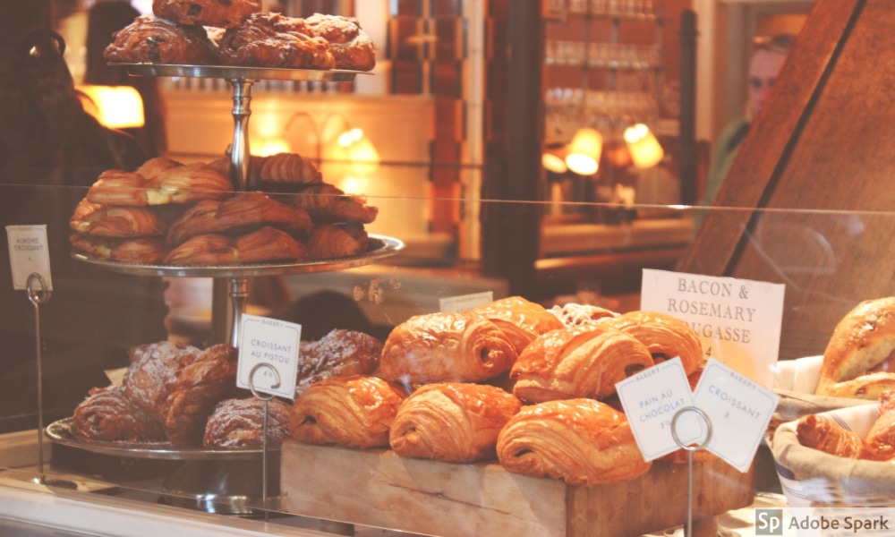 Various pastries containing gluten by The Healthy RD