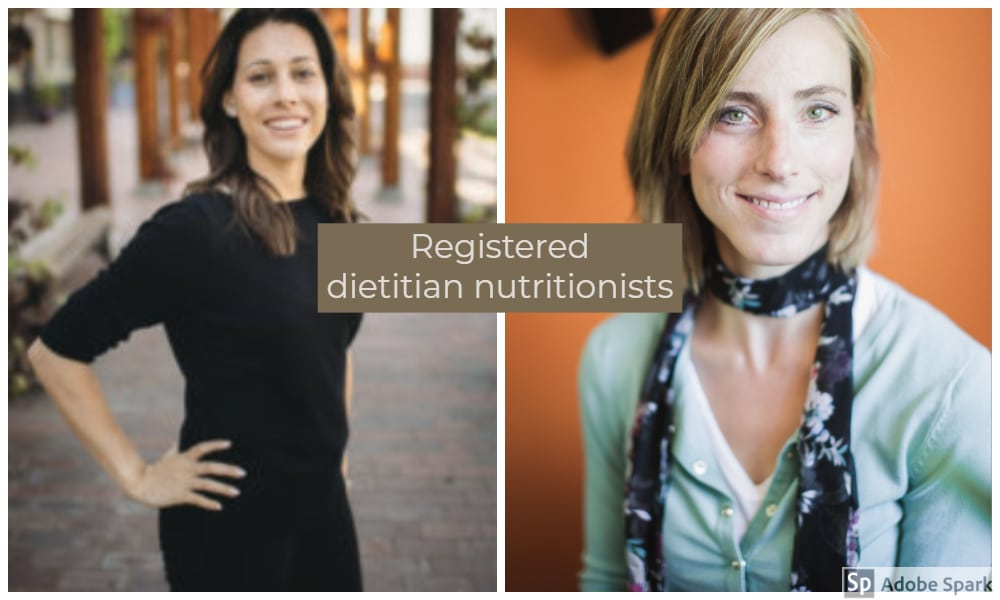 2 Registered dietitian nutritionist photos by The Healthy RD