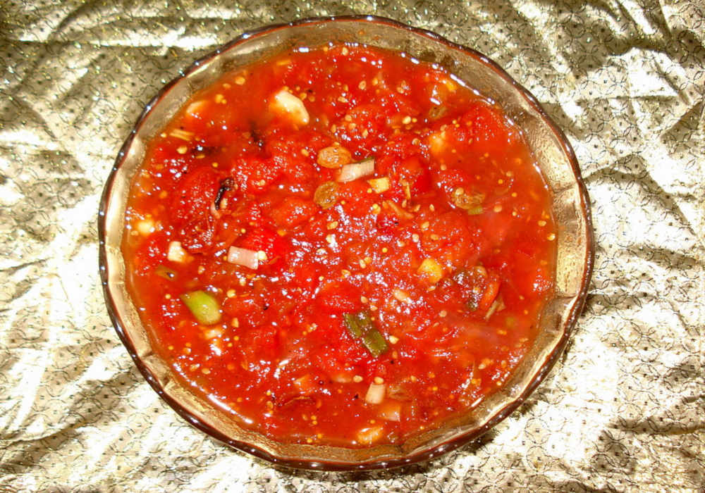 Salsa bowl by The Healthy RD
