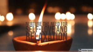 Self love and relaxation image by The Healthy RD