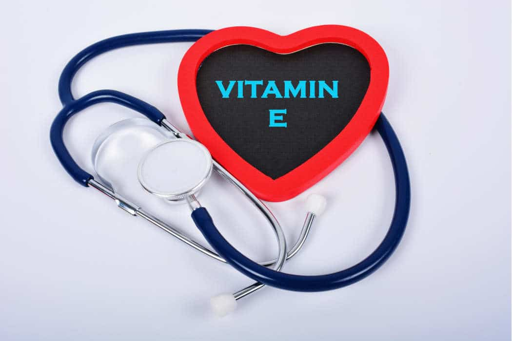 Vitamin E and stethoscope by The Healthy RD