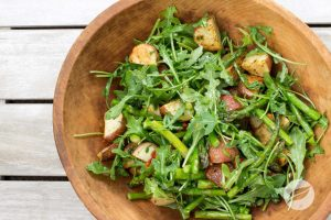 Asparagus salad by The Healthy RD
