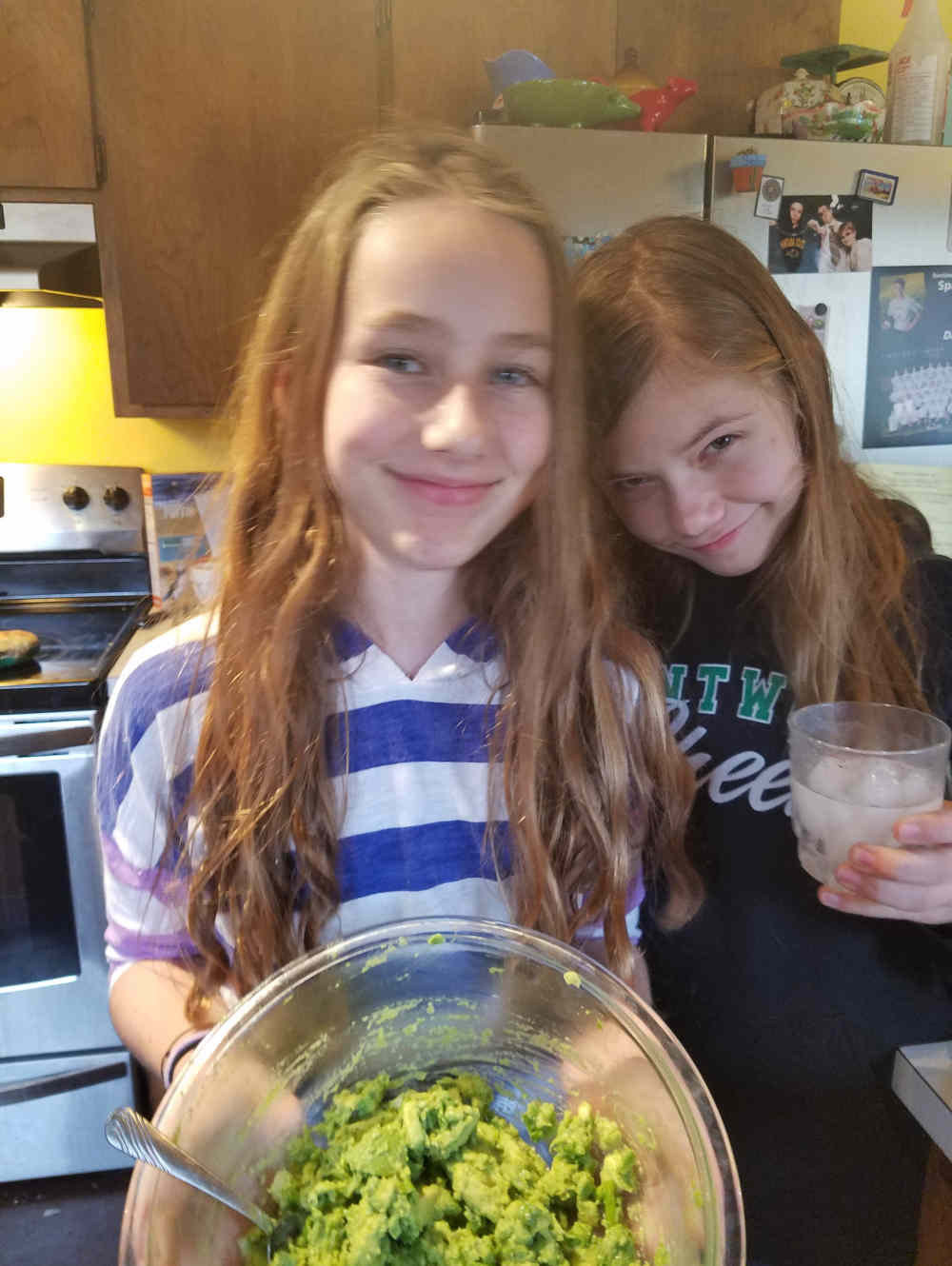 Guacamole recipe by teens by The Healthy RD