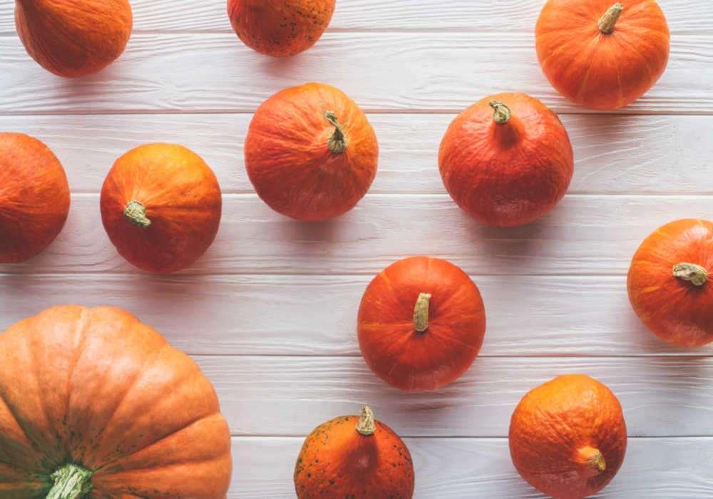 Bright orange pumpkin assortment by The Healthy RD