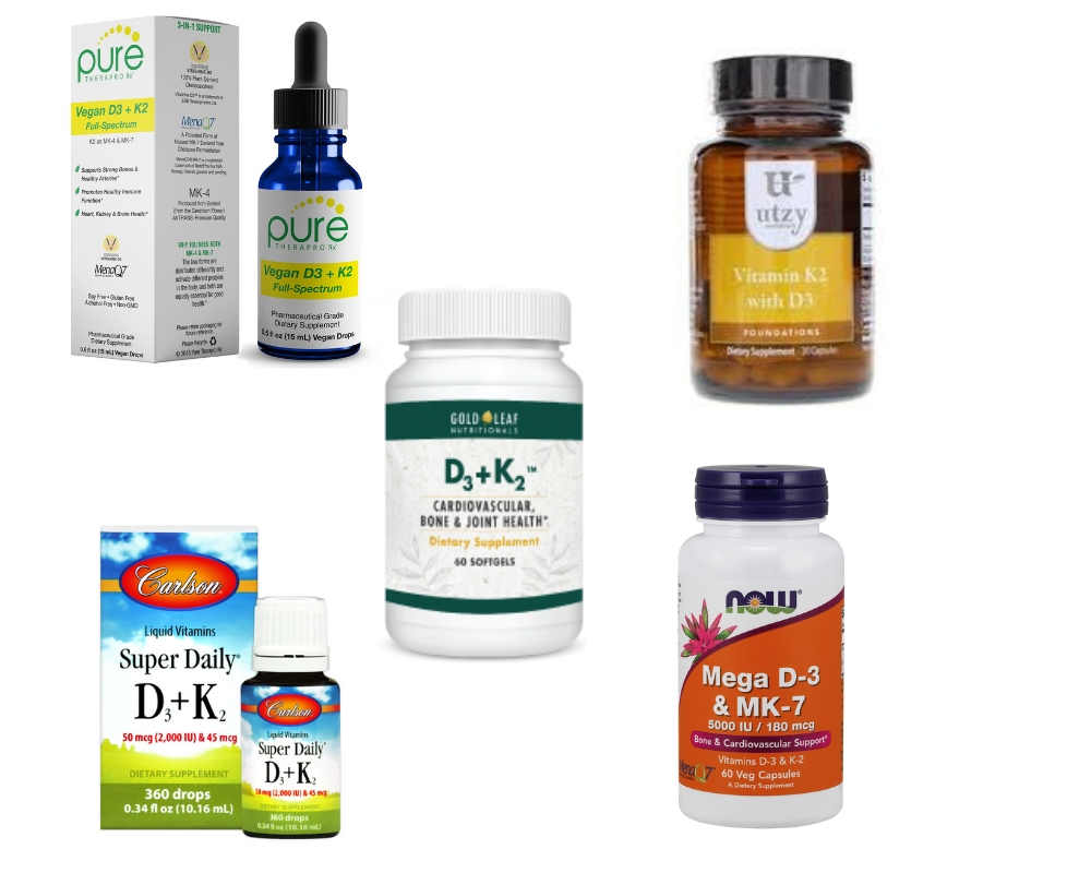 Vitamin D3 and K2 Brands by The Healthy RD
