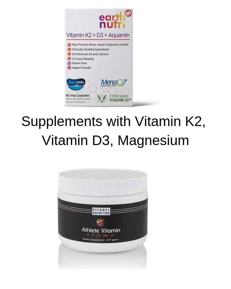 Vitamin K2, D3 and magnesium high-quality supplement brands by The Healthy RD