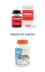 High quality vitamin K2 brands by The Healthy RD