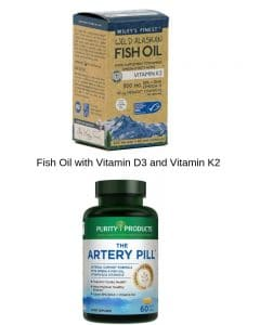 Vitamin D3, K2 and fish oil high-quality brands by The Healthy RD