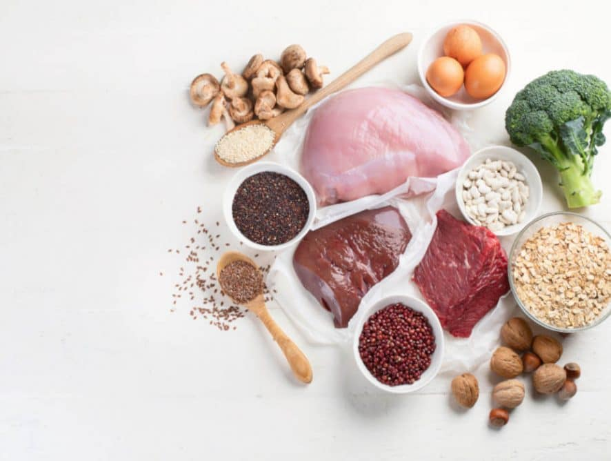 Iron in Foods by The Healthy RD