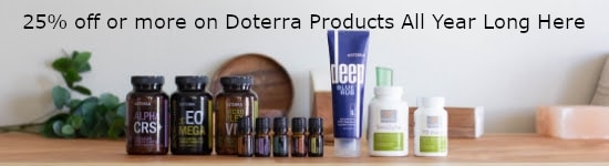 Get 25% off doterra kits depiction by The Healthy RD