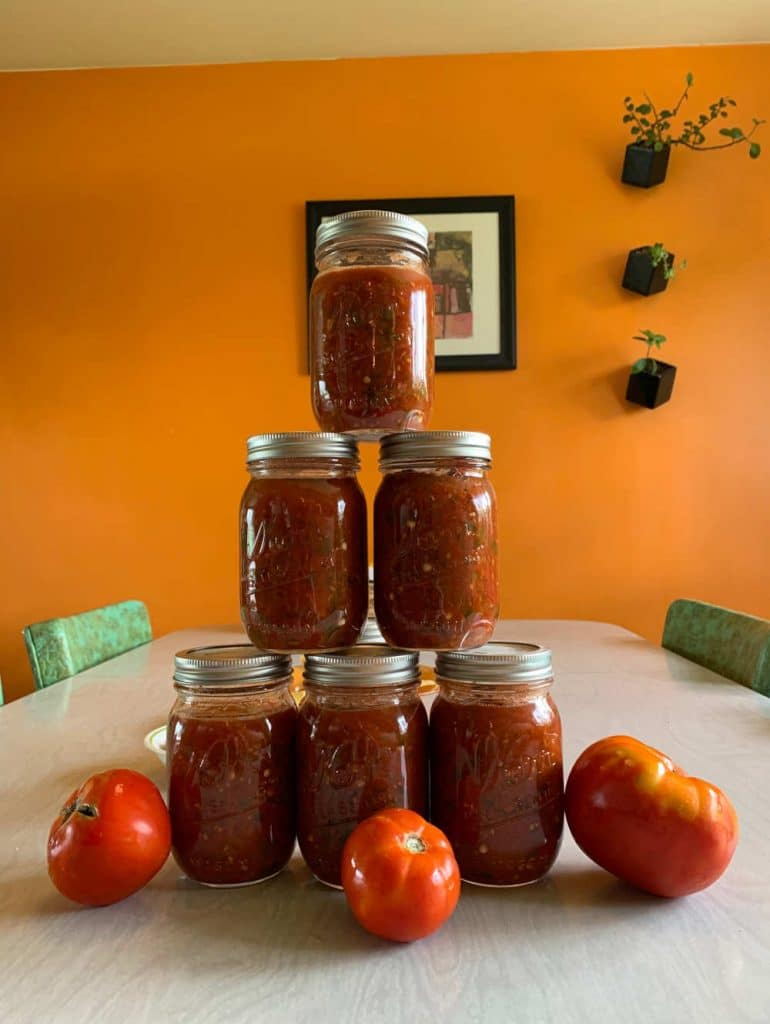 The Best Homemade Salsa For Canning