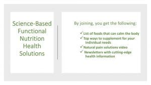 Functional Nutrition Offer by The Healthy RD