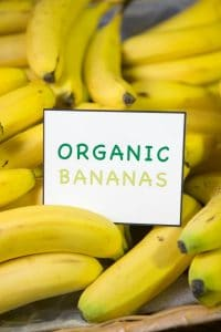 Organic bananas by The Healthy RD