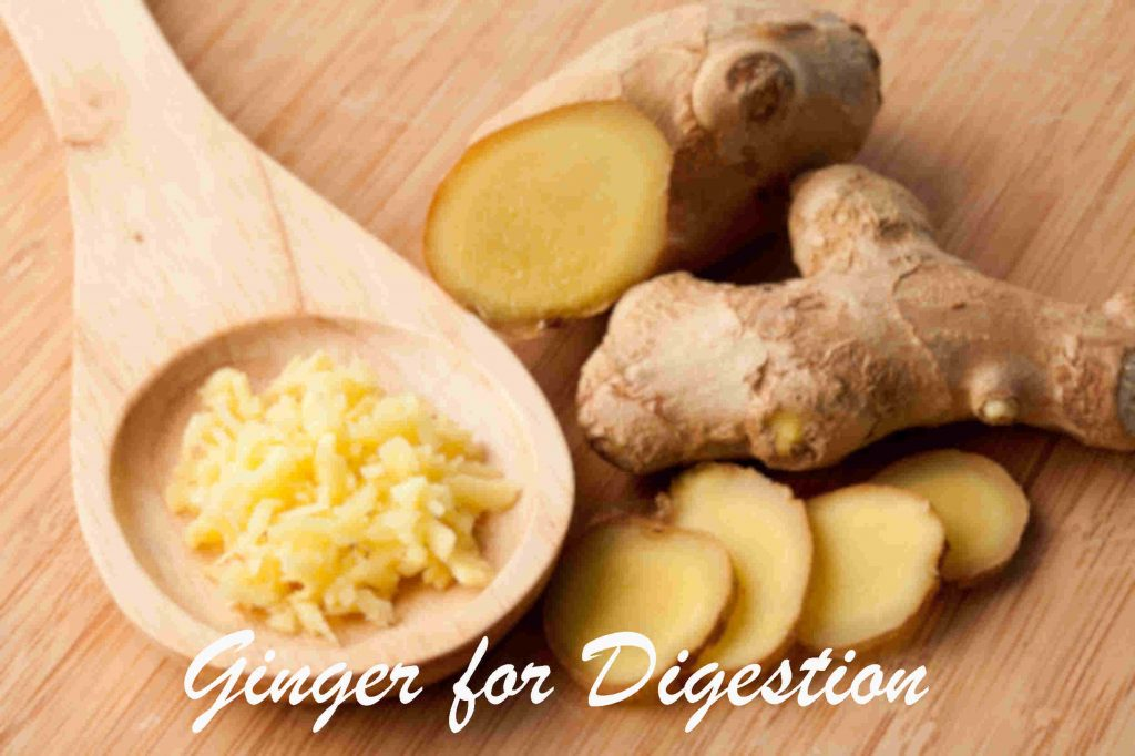 Fresh whole ginger, ginger slices, and ground fresh ginger by The Healthy RD