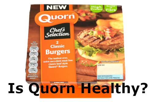 Is Quorn Healthy with Quorn Burgers by The Healthy RD