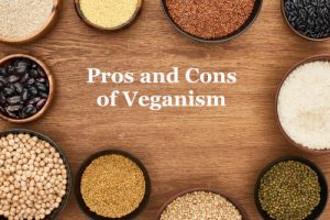 Legumes, whole grain and vegan foods depicting pros and cons of veganism by The Healthy RD