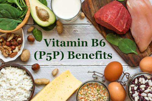 P5P Benefits with vitamin B6 rich foods by The Healthy RD