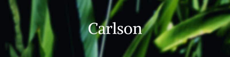 Carlson vitamins by The Healthy RD
