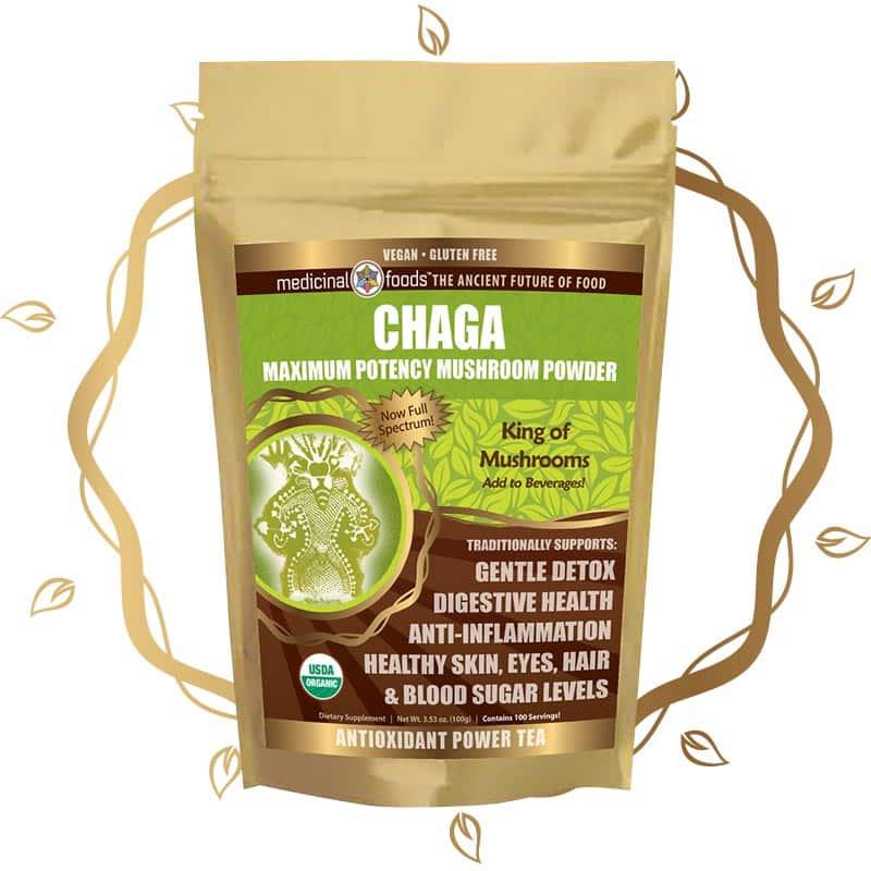 Chaga mushroom powder by The Healthy RD