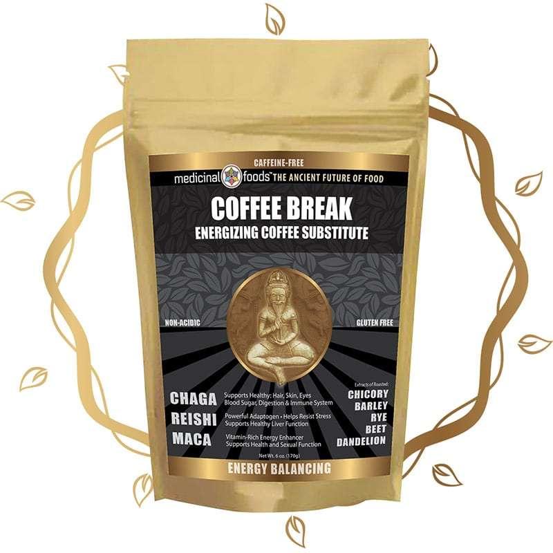 Coffee break mushroom coffee by The Healthy RD