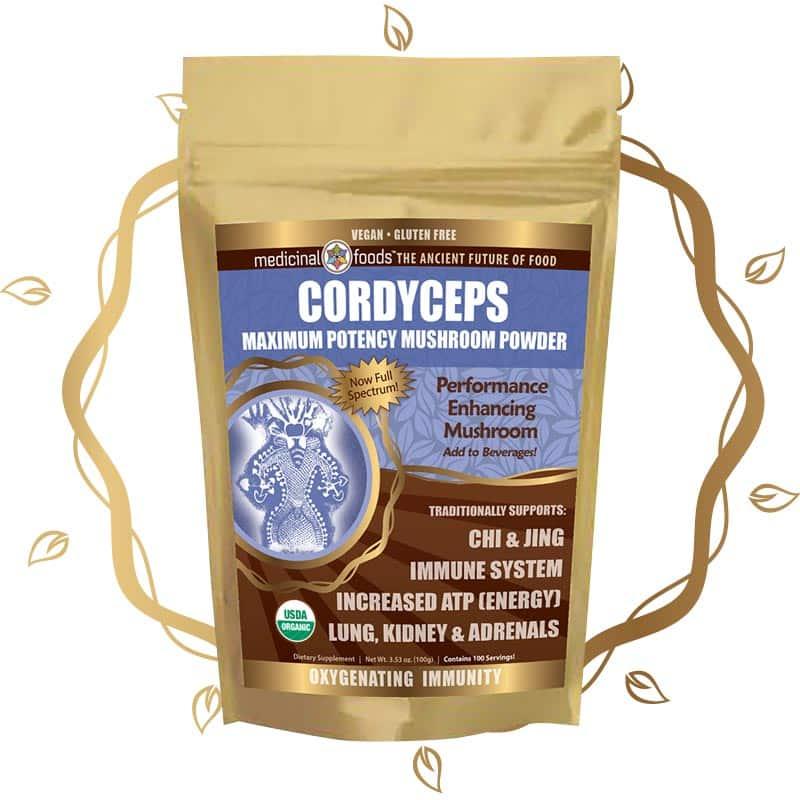 Cordyceps mushroom powder by The Healthy RD
