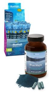 Blue spirulina Blue Majik by The Healthy RD