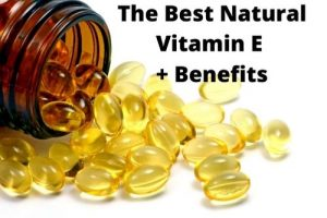 The Best Natuarl Vitamin E Capsules and Benefits by The Healthy RD