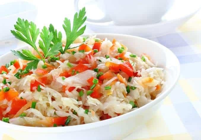 Sauerkraut salad by The Healthy RD