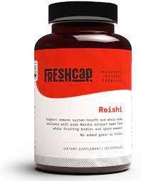 Freshcap Reishi mushroom capsules